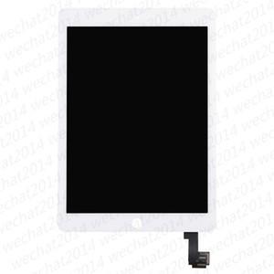 iPad Air 2 ücretsiz Nakliye için 10pcs LCD Ekran Dokunmatik Ekran Sayısallaştırıcı Değiştirme Montaj