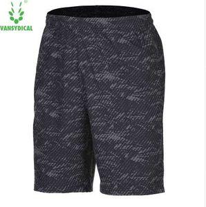 VANSYDICAL мужчины шорты для бега трусцой бегунов обучение спортивная спортивная одежда свободные дышащий фитнес упражнения тренажерный зал шорты одежда