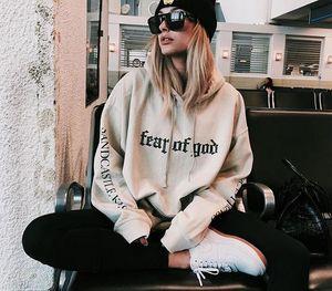 Fashion Brand Women Hoodies Fog Hoodies Autumn Women &#039 ;S Long Sleeve Hooded Swatshirts Hip Hop Causal Streetwear Female Black