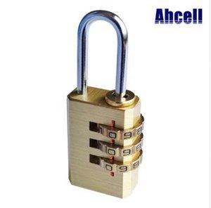 Mini Padlock أو Bag أرقام Reetendable 3 Brass Password Ligs Luggage 4 مشفرة الطلب الهاتفي Lock Travel Keyless Model