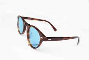 Venta al por mayor Vintage hombres y mujeres 5186 gafas de sol gafas de sol ov5186 gafas de sol polarizadas 45 mm retro ov gafas de marca de diseñador