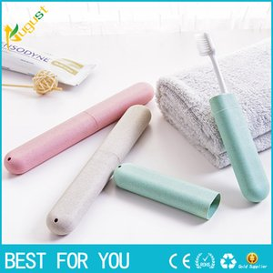 2018 New 1 piece Travel Toothbrush Holder Case Portable Toothbrushes Cover Box Travel Camping Anti-bacterial Toothbrush Storage Holder