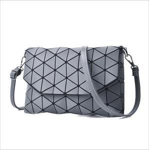 Nouveau sac à main avec diamant treillis pli paillettes sur des sacs petites femmes embrayage sac à main chaîne épaule Messenger Bag Wristlet bao bao livraison gratuite