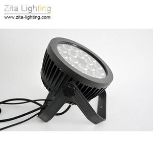 4шт / Lot Зита освещение LED PAR фары Снаружи IP65 водонепроницаемый Вне освещения этапа RGBW 18X10W 4IN1 5в1 6IN1 DMX 512 Tower Wall Washer