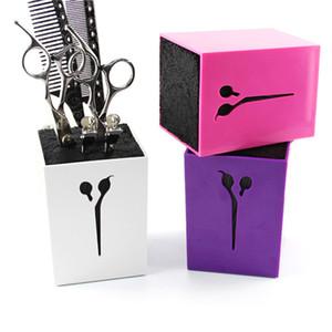 Professionelle Haar Kamm Scissor Fall Salon Haar Werkzeuge Haarschere Halter für Barber Scissor Socket Aufbewahrungsbox
