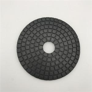 Preto Buff 6 polegadas (150 mm) para Dark Granite Círculo Polimento Roda Diamante Polimento Pad Buffing Disc