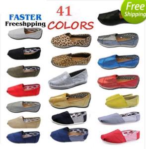 Scarpe casual Donna / Uomo Classici TO MRS Mocassini Canvas Slip-On Flats shoes Scarpe pigre taglia W5-10 M11-15 spedizione gratuita