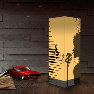 Papier, Schlagschatten Night Sänger Singen USB-Leuchten Innenhauptdekoration Lampen Schreibtisch-Tabellen-Licht als Geschenk für Kinder Großhandelsdropshipping