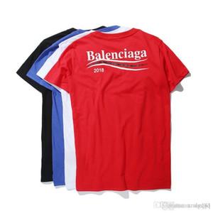 Maglietta inglese maschio e femmina Maglietta allentata mezza manica Moda casual manica corta Coppia wear Nuovi prodotti