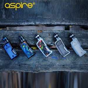 Autentico Aspire Feedlink Revvo Kit Alimentato dal singolo 18650 Squonk Box Vape Mod e dalla bottiglia Revvo Boost Tank 7ml squonk ridisegnato