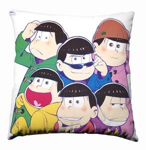 Anime Manga Osomatsu-san Pillow 40x40cm Pillow Case Cover Seat Bedding Cushion 003