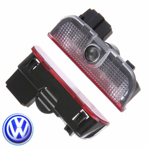 Araba Kapı Hoşgeldiniz Lazer Projektör Logosu Kapı Hayalet Gölge VW Volkswagen Tiguan Golf 5 için LED Işık 7 7 Passat B7 EOS VB