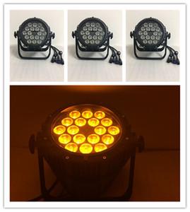 4 unidades impermeable dj dmx 18x15w led disco par light exterior par led 5in1 rgbwa dmx led par light