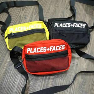 الأماكن + الأوجه 3M سكيتبورد عاكس حقيبة رسالة حقائب جذابة لطيف عارضة الرجال حقيبة الكتف البسيطة الهاتف المحمول حزم أكياس التخزين