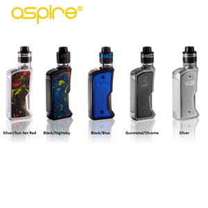 100% Original Aspire Feedlink Revvo Kit Powered by single 18650 Squonk Box Mod and re-designed Revvo Boost Tank 7ml squonk bottle