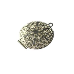 Photo Lockets Round Picture Frame Pendenti Bracciale Collana Accessori Portachiavi Decorazione Foto Fascino con ciondolo per donne Ragazze