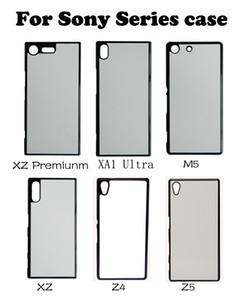 Caso de PC de sublimação em branco para sony xperia m4 m5 xa xa1 x z premiunm z4 z5 l1