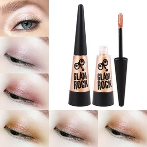 YANQINA Metallic Shimmer Liquid Eyeshadow Cream Waterproof Long lasting Diamond Gold Silver Rose Red Glitter Eyeshadow