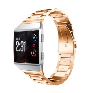 Feste Edelstahl-Zubehör-Uhrenarmband-Bügel-Metallbänder für Fitbit Ionic