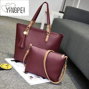 Frauen Tasche Designer Neue Mode Lässig frauen handtaschen Luxus umhängetasche qualität PU Marke quaste Korean Style Große kapazität