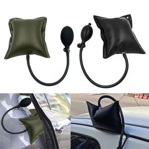 Black Green Car Air Pump Wedge Auto Door Window Open Air Inflatable Pump Wedge Pad Entry Shim Repair Tools