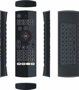 2018 MX3-L 2.4g Air Mouse Retroiluminado MX3 al por mayor en línea con control remoto 2.4G mini teclado inalámbrico