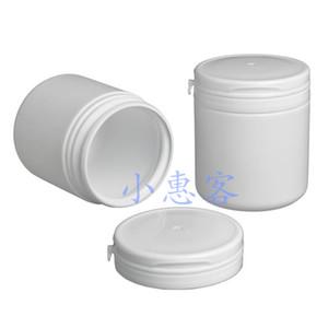 Botella de goma de mascar de Taobao 20pcs / lot 100ML, botella plástica blanca del nuevo producto de PE, rasgue apagado la botella plástica del caramelo del casquillo