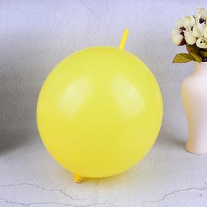 100 STÜCKE 12 inch Schwanz Ballons Party Dekorationen Hochzeit Liefert Geburtstag Link Ballon Farbe Sortiert