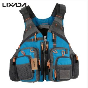 Lixada 낚시 조끼 생활 안전 재킷 수영 항해 조끼 조끼 뜨는 우수한 209lb 방위 Colete Salva-Vidas