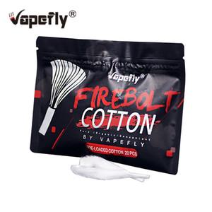 Vapefly Firebolt Organic Cotton per DIY Coil Building 1pz / pack Sigaretta elettronica di ricambio per noi