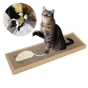 Cat Toy Sisal canapa Pet Scratch Consiglio Cat Tiragraffi Scratch rettangolo Pad Claw