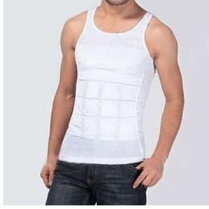 Erkekler Şekillendirme Yaz Katı Kolsuz Firma Karın Göbek Buster Yelek Kontrol Zayıflama Vücut Şekillendirici Iç Çamaşırı Gömlek