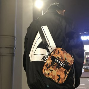 M + RC NOIR SIDE BLACK 3M 반사 가방 고급 빈티지 미니 어깨 가방 야외 실용 배낭 크로스 대각선 패키지 HFLSBB018