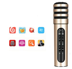 new C6 CR100 mobile phone singing all the people K song microphone Andrews computer broadcast microphone external accompaniment