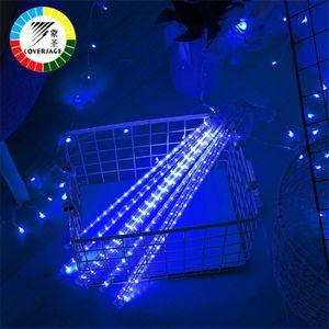 Coversage Meteorschauer Regen Rohr 30 CM 50 CM 5 Stücke Weihnachtsbaum Dekorative Luces Vorhang Außenleuchten Weihnachten Led Lichterkette