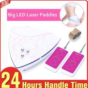 Marka Yeni 5 mW Lipo Lazer Düşük Seviye Işık LLLT Lazer Büyük Pedleri Vücut Saçılma Şekillendirme Güzellik Ekipmanları