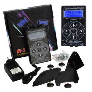 Professional Tattoo Power Supply Hurricane HP-2 Powe Supply Digital Dual LCD Display Power Supply for Tattoo Machines Gun Free shipping