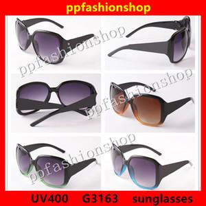 Mode klassische Designer-Sonnenbrille 3163 Frau Sonnenbrille Männer und Frauen UV400 Paare Objektiv 4 Farbe optional