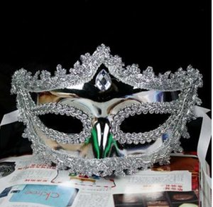 Bola de casamento Filigree Filigree Mascaras Masquerade Mardi Prom Evento Gras Rhinestone Venetian Party Pars Mask Nirtj