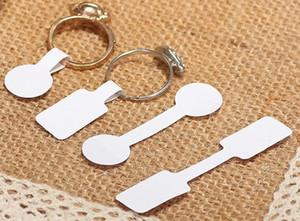 400 unids / bolsa anillo redondo joyería pegajosa precio al por menor etiqueta de etiqueta Etiqueta autoadhesiva herramienta etiquetas, etiquetas de precio, venta al por mayor de la tarjeta