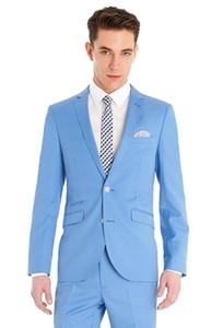 2018 Custom Made Slim Fit Suit Groom Tuxedos Peak Lapel Groomsman Suits Men Wedding Party tuxedo Suits Bridegroom