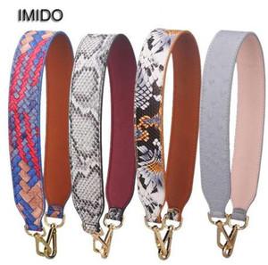 IMIDO 64 см кожаная сумка пояс сумка короткий ремень широкий сумка замена цветок аксессуары частей бренда дизайн STP035