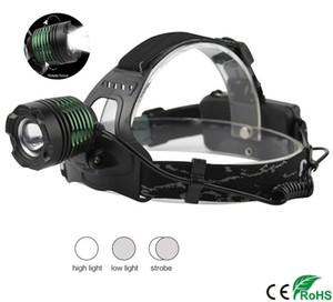 XM-L T6 LED Zoomable Scheinwerfer Taschenlampe 3 Modi Lichtschalter Einstellbar Jagdscheinwerfer Tragbare Taschenlampe Angeln Scheinwerfer Auto