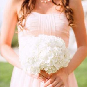 12 '' Tall bouquet3pcs / Lot hortensie in papier weiß blau rosa künstliche blume für hochzeit blumen design dekoration gefälschte blumen