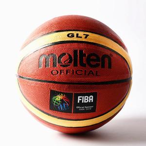 Molten Piel FIBA GL7 PU juego de baloncesto auténtica de las Estrellas Tamaño de interior al aire libre de la bola de baloncesto match bola de entrenamiento 7