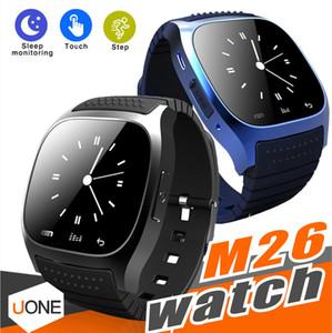 M26 Смарт часы Bluetooth водонепроницаемый Smartwatches пассометр монитор SMS Наручные часы для Android Samsung смартфон Kids