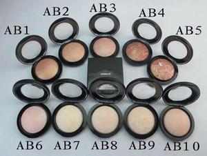 Haute qualité! Nouveau maquillage Arrivée Face Minéralize Poudres Face Poudre Poudre! 10g 10 Couleurs 8 pcs / Lot