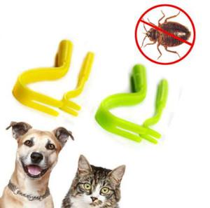 Tick Twister Remover paquete de herramientas de gancho x 2 tamaños Dog Horse Cat Pet Removedor de pulgas humano Pinzas Puppies Groom Tool