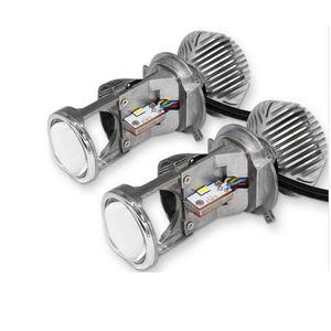 LED H4 CREE LED kit de phare de l'objectif du projecteur Salut / Bas Haut Bas faisceaux de lampe Ampoules vs xénon HID