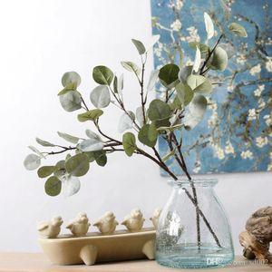 Künstliche Blatt Vivid Haarige Pulp Geld Blätter Für Haus Blume Anordnung Gefälschte SIMULATION Grünpflanzen Hochzeit Dekorationen 5 53jm ZZ